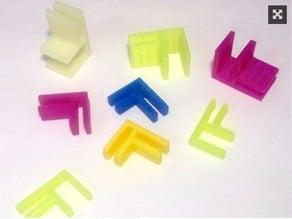 Customizable Foam Board Connectors