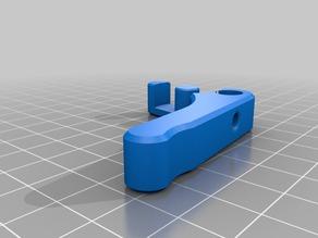 FlexiStruder - mk8 gear - m6 push fitting