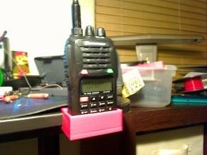 Handheld Ham Radio desk holder