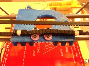 GT2 Belt Clamp For Ecksbot