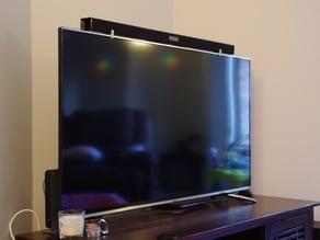 Soundbar TV mounting bracket