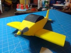 Simple Model Aeroplane