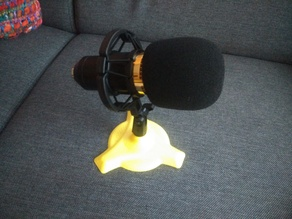 Microphone stand (tripod mount)