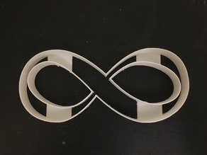 Infinity Symbol Cookie Cutter