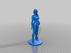 Triss - The Witcher / 20cm / 3d stl obj model