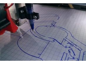 Pen plotter - draw on paper or create pcbs  Zonestar p802 (v2)
