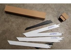 Reciprocating saw (Sawzall) blade case