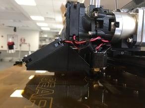 MakerGear M2 Dual Fan Shroud (2 Piece)