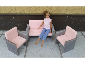 Barbie seating furniture