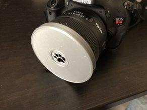 Interchangable Shaped Bokeh Lens Adapter