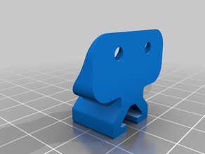 Effector Cable Management Mount for AnyCubic Kossel