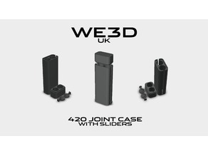420 DUAL JOINT CASE - WITH PUSH SLIDERS