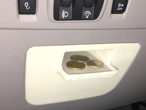 Renault ZOE relays cover with Coin & Card holder