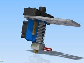 K8200/3Drag E3D v6 HotEnd extruder mount with fan