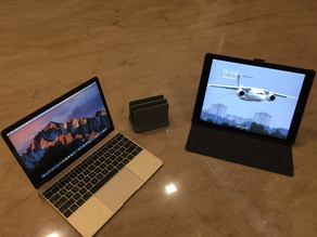 ipad pro and new macbook holder