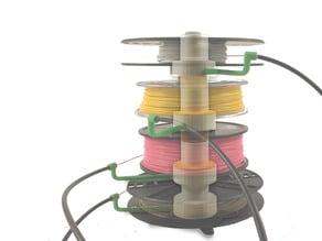stackable filament spool
