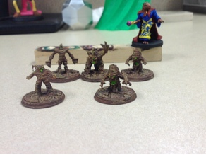 Twig Blight minis for DnD - Lost Mine of Phandelver