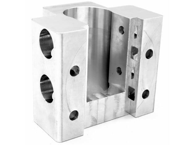 machoire aluminium arrière V3 pour imprimante 3D Scalar