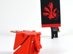 GOT Targaryen Dragon Sigil