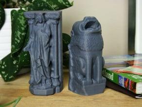 Roslyn Chapel Statues, Scotland