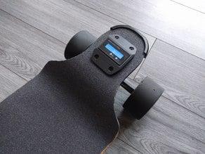 Riser Battery Capacity Meter for Electric Longboard