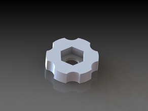 M4 Hex Nut Thumbscrew for Makergear M2