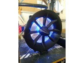 120mm fan mount (GoPro style) for soldering station.
