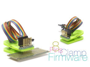 Clamp for firmware controllers 8 pins