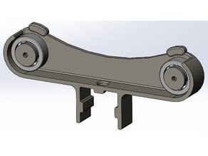 """spool holder for 80/20 aluminum extrusion(1"""" square)"""