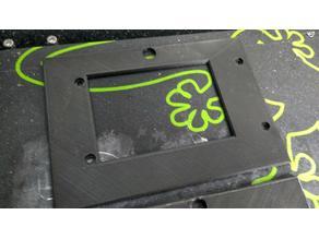 East3D Gecko Low-Profile Front Panel Screen Bezel