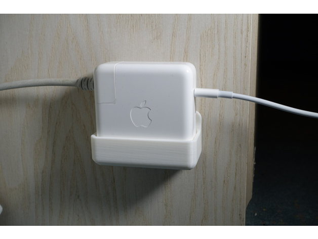 Macbook Pro 61w Amp 87w Usb C Power Adapter Wall Mount By