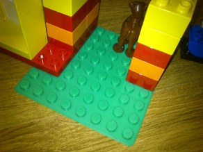 Duplo compatible build plate 8x8