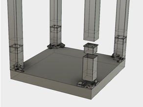 Stackable and adjustable Lack enclosure