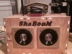 ShaBOOM - 10W Stereo MP3 BoomBox & Power Bank