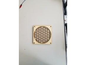 Laser Cut 120mm Fan Grill