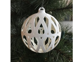 Christmas Bulb Ornament