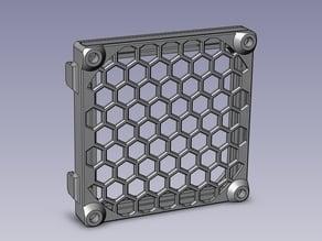 Slide-on dust filter for 80mm fan