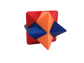 Download 3D Printed Star Puzzle