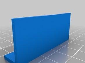 Angle Profile 20x10 mm with length 5-50 cm