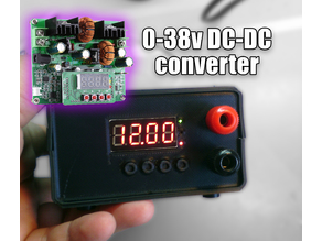D3806 DC-DC Buck Boost Converter 38v - Power Supply - Box