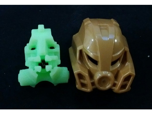 bionicle head modified by scibrary thingiverse
