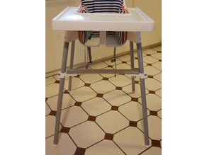 Foot Rest for IKEA ANTILOP High Chair (updated)