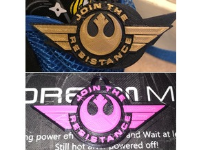 Star Wars Join the Resistance Keyring