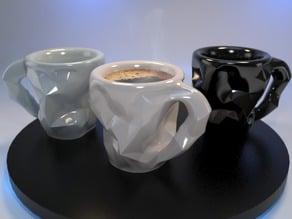 Crushed Espresso cup