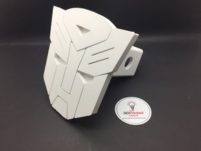 """Autobot 2"""" Trailer Hitch Cover"""