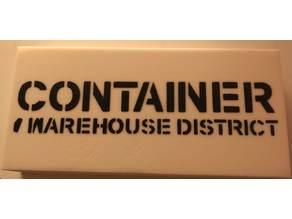 Port of Call - Logo Stencils
