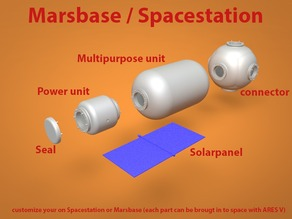 Fully customizable Marsbase / Spacestation