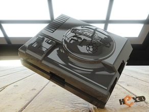 Sega Pi  - Genesis Raspberry Pi-2 Case