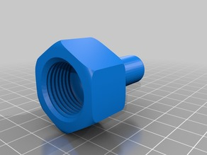 Pipe connector for faucet (1/2 inch)