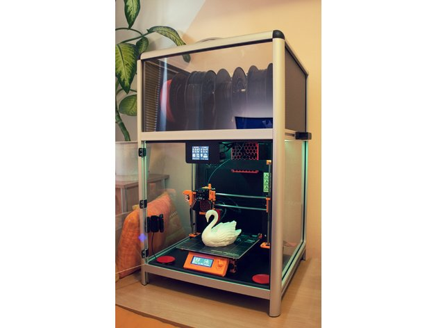 Universal 3D Printer Smart Enclosure by JKSniper - Thingiverse